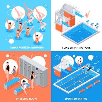 Swimming pool design concept
