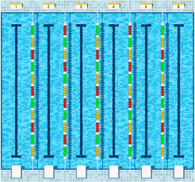 Swimming pool flat