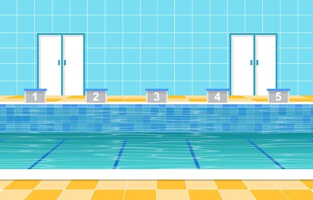 スイミングプール夏休み健康スポーツ漫画