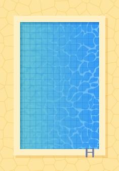 수영장 평면도