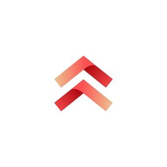 Swipe up arrow logo