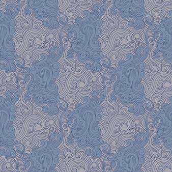 Swirl drawn pattern