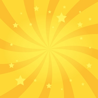 Swirling radial stars background