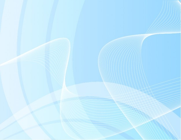 Swooshes抽象的な背景を持つソフトなイメージ