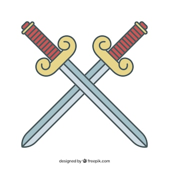 Swords cross