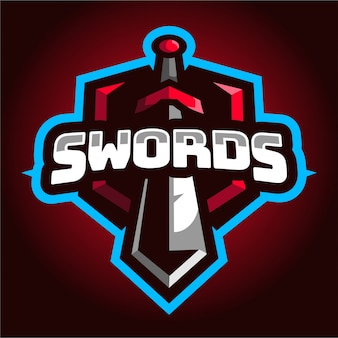 Swords e-sport gameロゴ