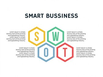 Swot analysis template vectors photos and psd files free download swot business infographic wajeb Image collections