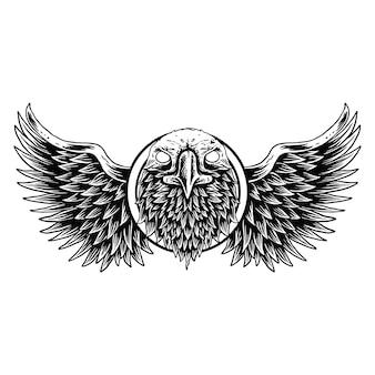 Symbol eagle,as a symbol of power