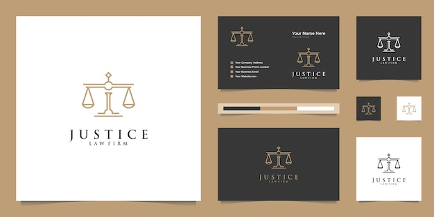 Symbol of the law of premium justice. law firm, law offices, attorney services, luxury logo design inspiration.