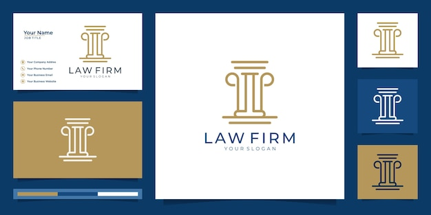 Symbol of the law of premium justice. law firm, law offices