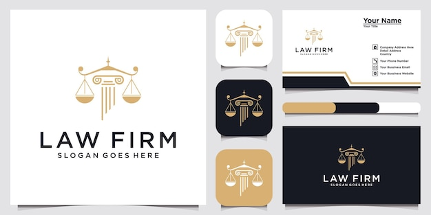 Symbol lawyer attorney advocate template linear  shield sword law legal firm security company