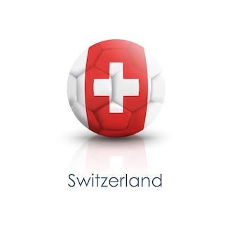 Simbolo calcio cerchio switzerland modello