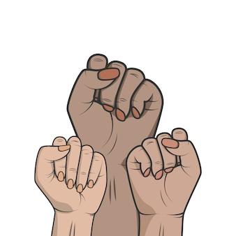 Symbol unity or sisterhood