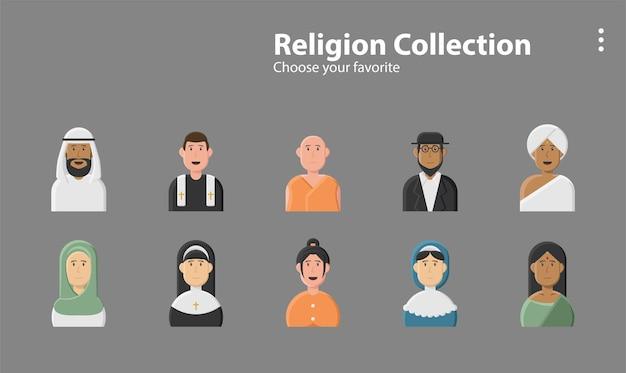 기호 벽지 앱 선화 스타일 상업 예술 로고 캠페인 종교 성자 종교 파티