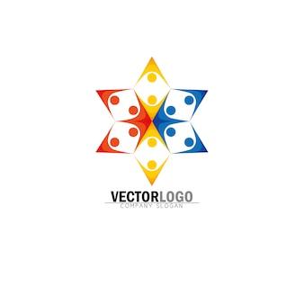 Symetrical business logo