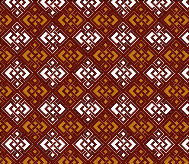 Symmetrical pattern background