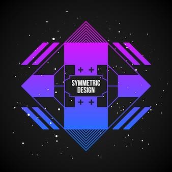 Symmetry background design