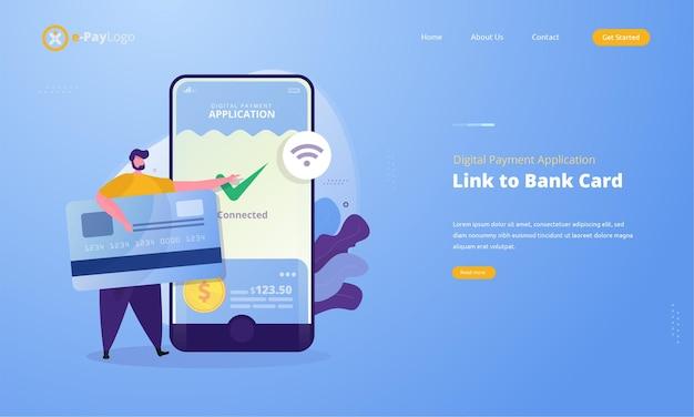 Синхронизируйте банковские карты или привяжите банковские карты к приложениям для цифровых платежей