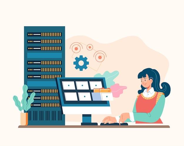 시스템 관리자 서비스 개념