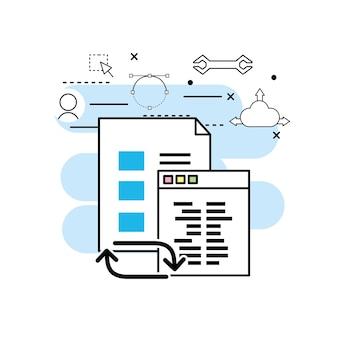 ウェブサイトコードによるシステムプログラミング技術