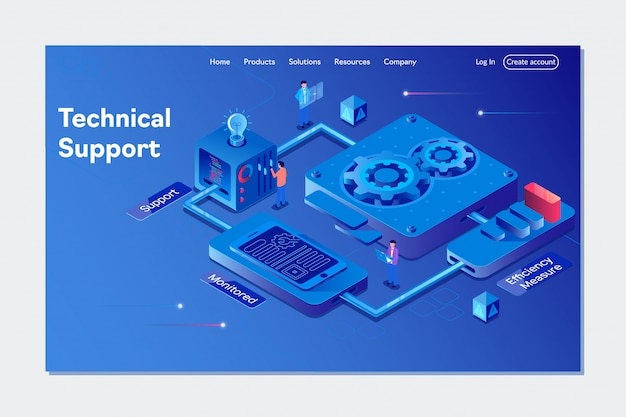 System of technical support