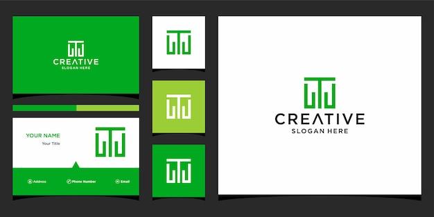 T 금융 로고 디자인