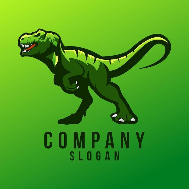 T-rex logo design