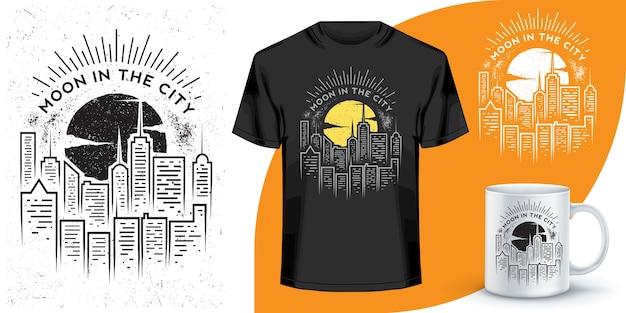 Дизайн футболки и кофейной кружки