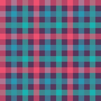 T-shirt color seamless pattern. flannel fabric texture. checkered textile background