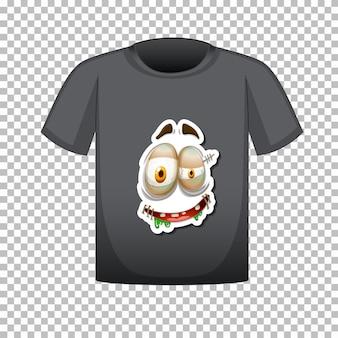 전면에 그래픽이 있는 티셔츠 디자인