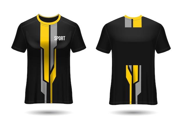 T-shirt sport jersey template design.