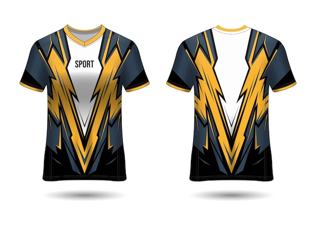 T-shirt sport jersey template design