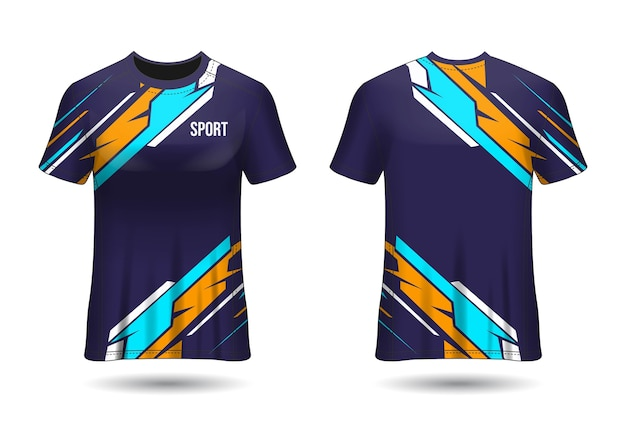 T-shirt sport jersey template design