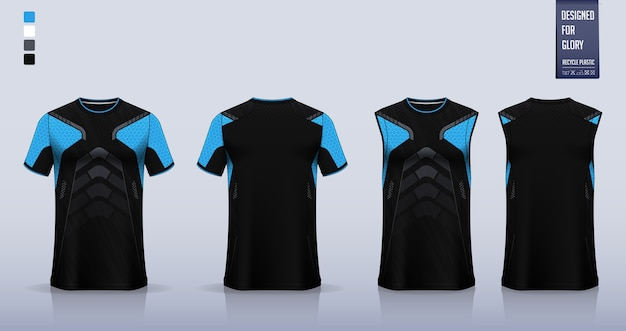 Футболка спортивная рубашка дизайн шаблона.