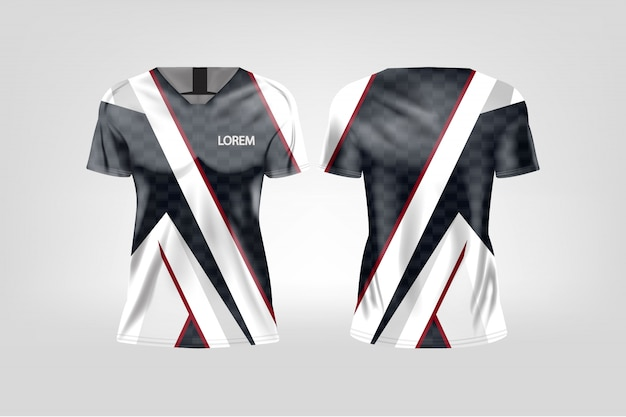 T-shirt sport for women, soccer jersey for football club.