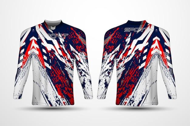 Шаблон футболки, спортивная майка для гонок, футболка для футбола