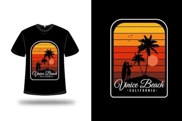 Футболка с дизайном venice beach california
