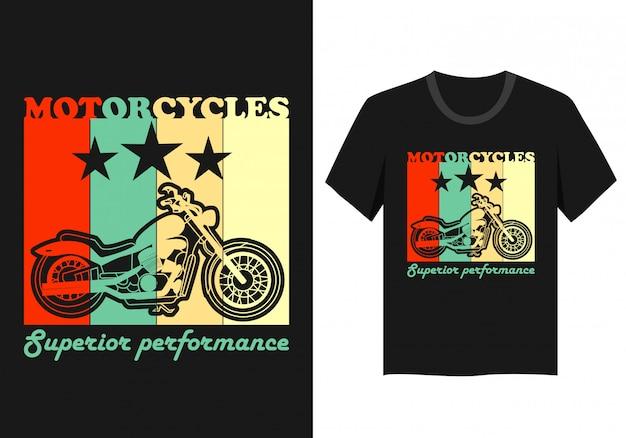 オートバイのtシャツ