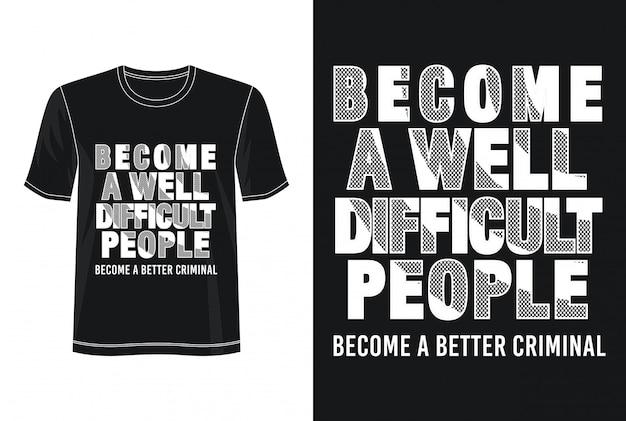 印刷tシャツの引用タイポグラフィ