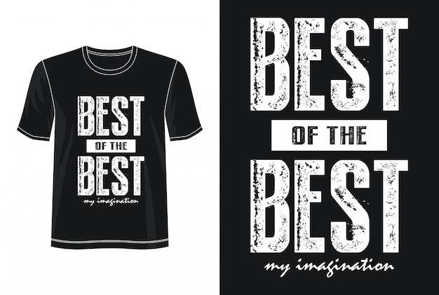 最高のタイポグラフィデザインtシャツ