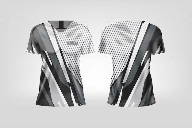 女性用のtシャツスポーツ、サッカークラブ用のサッカージャージ。