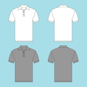 ボタンtシャツイラスト