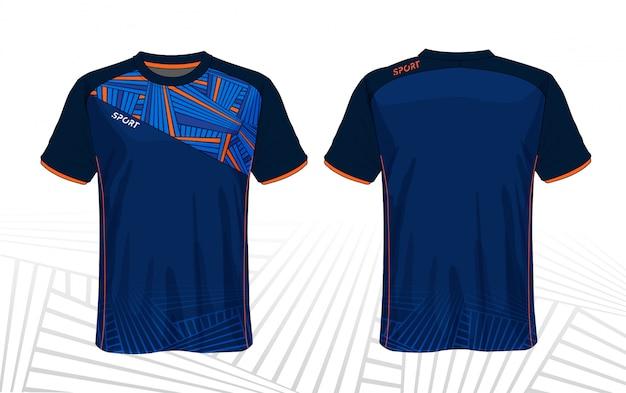 サッカージャージスポーツtシャツ
