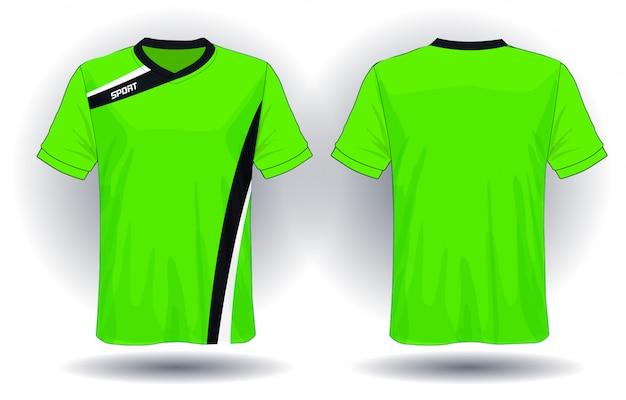 サッカージャージースポーツtシャツのデザイン。