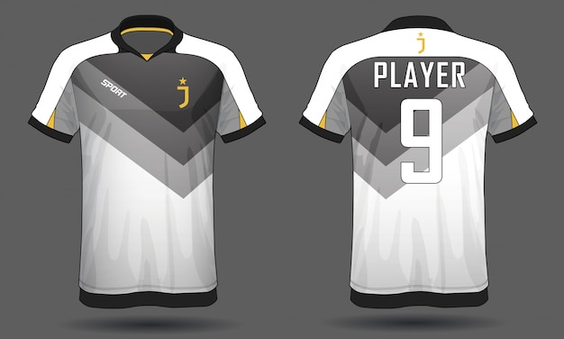 サッカージャージースポーツtシャツ