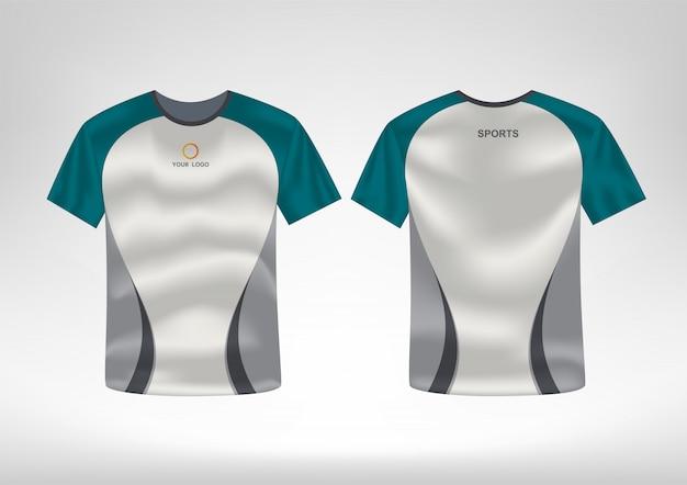 スポーツtシャツのデザインテンプレート