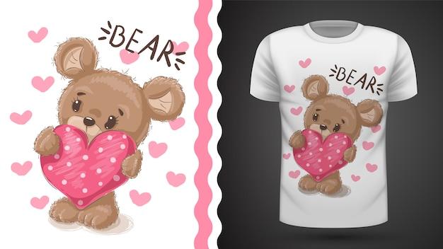 かわいい梨 - プリントtシャツのアイデア