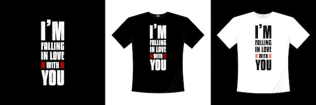 タイポグラフィのtシャツのデザインが大好きです。
