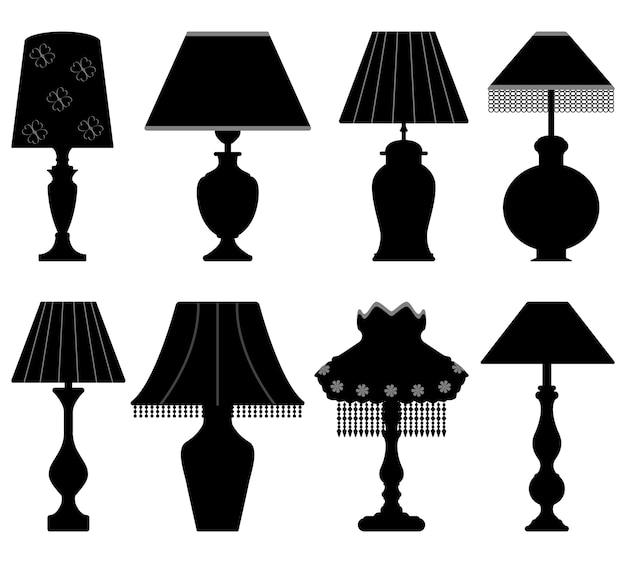 테이블 램프 라이트 블랙.