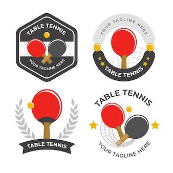 卓球ロゴ集
